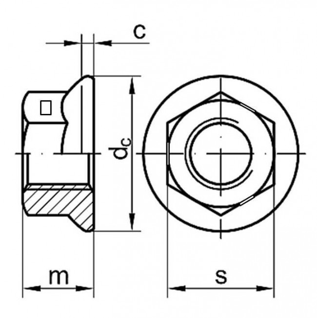 fastenerdata metric coarse centre locking flange nut steel class 8 M33 Bolt Dimensions fastenerdata metric coarse centre locking flange nut steel class 8 nuts dimensions fastener specifications