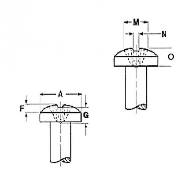 fastenerdata - unc phillips binding head machine screw grade-4 8 b18 6 3