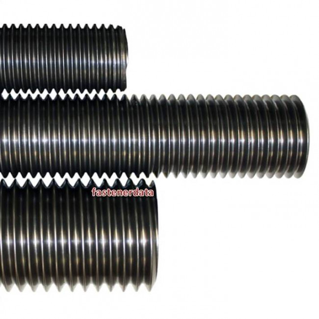 Fastenerdata metric coarse allthread threaded rod grade