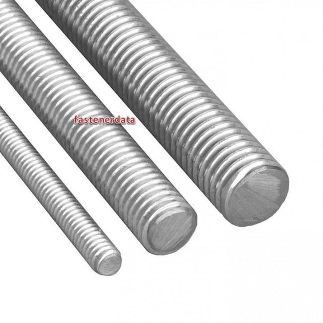 Fastenerdata - Metric Coarse Allthread Threaded Rod