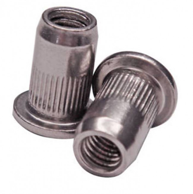 Fastenerdata Blind Rivet Nut Standard Splined Steel