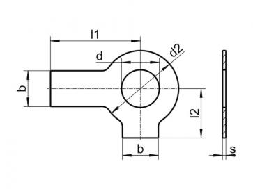 Fastenerdata Metric Two External Tab Locking Washer