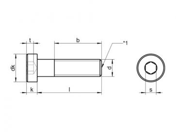 Metric Coarse Low Head Socket Cap Screw Stainless-Steel-A4 DIN7984