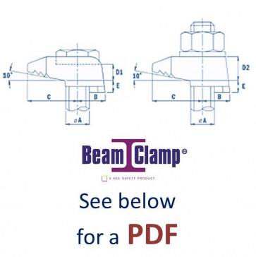 Metric Beamclamp Steel