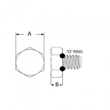 Metric Coarse Hexagon Head Seal Screw
