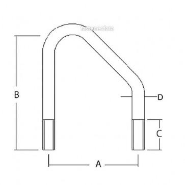 Metric Coarse Bent N Bolt Steel