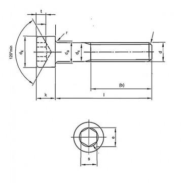 Metric Coarse Socket Cap Screw Grade-12.9 DIN912