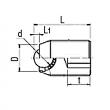 Metric Coarse Socket Set Screw Plunger Ball Steel
