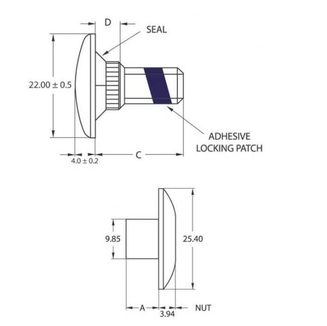 Fastenerdata Grip Tainer Fastener Specifications