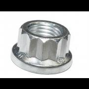 UNC 12 Point Flange Nut Steel