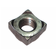 UNC Square Collarless Projection Weld Nut Steel