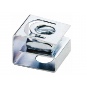 Metric Coarse Cage Nut with Retainer Steel