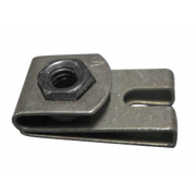 Metric Coarse Clip Nut Steel