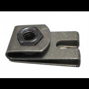 Metric Coarse Clip Nut Steel