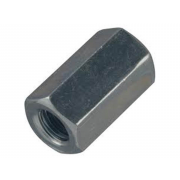 Metric Coarse Hexagon Allthread Coupling Connector 3D Class-4 DIN6334