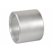 Metric Coarse Round Allthread Coupling Connector Steel