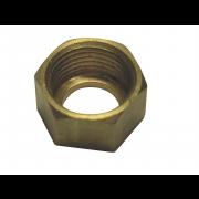 BSP Coupling Nut Brass DIN3872