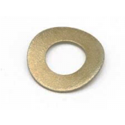 Metric Curved Split Lock Spring Washer Phosphor-Bronze DIN128A