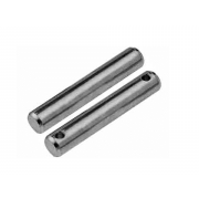 Metric Head Less Clevis Pin with Pin Hole Steel DIN1443B