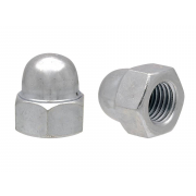 Metric Fine Domed Acorn Hexagon Nut Class-8 DIN1587