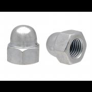 Metric Coarse Domed Acorn Hexagon Nut Class-6 DIN1587