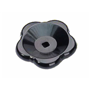 Metric Hand Wheel with square hole Thermoset plastic DIN388