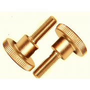 Metric Coarse Knurled Thumb Screw Brass DIN464