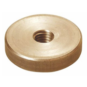 Metric Coarse Round Knurled Thumb Nut Thin Type Brass DIN467