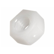 Metric Coarse Hexagon Full Nut Nylon-66 DIN555