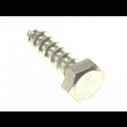 Metric Hexagon Coach Screw Brass DIN571