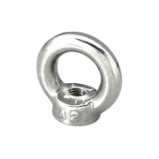 Metric Coarse Lifting Eye Nut Forged with Shoulder Stainless-Steel DIN582