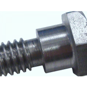 Metric Coarse Hexagon Fit Bolt H7 with Short Thread Stainless-Steel-A2 DIN610