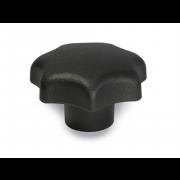 Metric Coarse Grip Knob Plastic-Steel-Insert DIN6336K