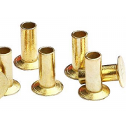 Metric Countersunk Head Semi Tubular Rivet Steel DIN6792