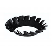 Metric Countersunk External (Fan Disc)Toothed Serrated Lock Washer Spring-Steel DIN6798V