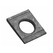 Metric Square Taper Washer For U Sections 8% Hardened Steel DIN6918