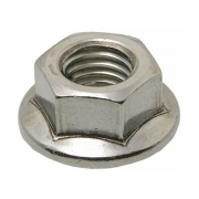 Metric Coarse Hexagon Flange Nut Stainless-Steel-A2 DIN6923