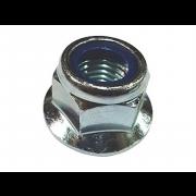 Metric Fine pitch Nylon Insert Flange Self Locking Nut Class-8 DIN6926