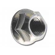 UNC All Metal Self Locking Nut with Flange Steel IFI100107