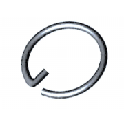 Metric Retaining Snap Rings For Slotted Nut Spring-Steel DIN70951