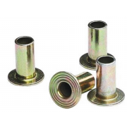 Metric Tubular Flat Head Rivet Brass DIN7338C