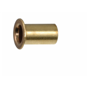 Metric Tubular Hollow Rivet Brass DIN7340B