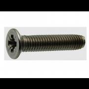 Metric Coarse Pozi Countersunk Head Thread Forming Screw For Metal Case Hardened Steel DIN7500MZ