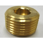 Inch Socket Taper Pressure Pipe Plugs Brass DIN906R