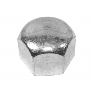 Metric Coarse Domed Hexagon Nut Low Crown Stainless-Steel-A4 DIN917