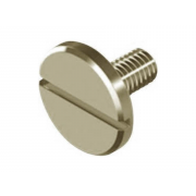 Metric Coarse Slotted Large Cheese Head Machine Screw Stainless-Steel-A1 DIN921