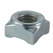 Metric Coarse Square Weld Nut Standard Collar Stainless-Steel-A4 DIN928C