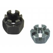 Metric Coarse Slotted and Castle Hexagon Nut Class-4 DIN935