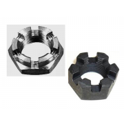 Metric Fine Thin Slotted and Castle Hexagon Nut Class-4 DIN937
