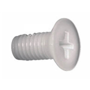 Metric Coarse Phillips Countersunk Head Machine Screw Nylon-66 DIN965